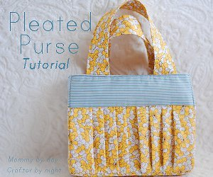 Perfectly Pleated Purse