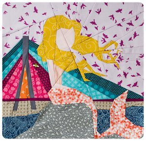 Warsaw Mermaid Quilt Block