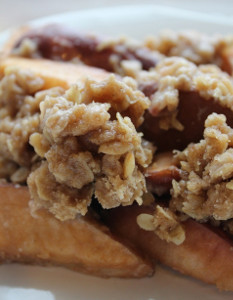 Simple Slow Cooker Apple Crisp