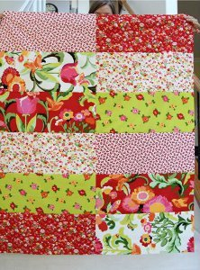 Afternoon Six and a Half Dozen Baby Quilt