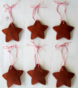Handmade Cinnamon Ornaments