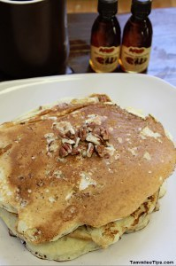 Copycat Cracker Barrel Pecan Pancakes