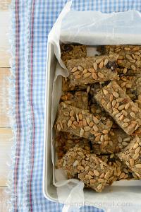 No-Bake Homemade Oatmeal Breakfast Bars