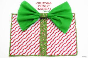 Christmas Present Place Mat