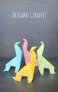 Awesome Origami Giraffes