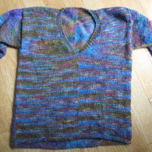 Витражи свитер