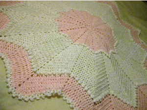 Pink Peppermint Afghan