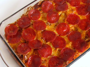 Best Anytime Pizza Casserole