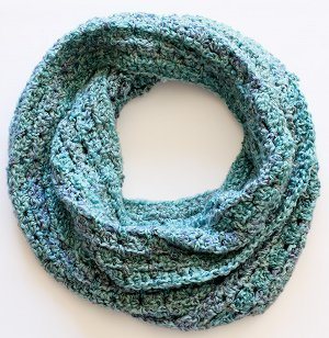 Sea Foam Infinity Scarf