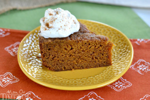 Slow Cooker Pumpkin Pie Cake