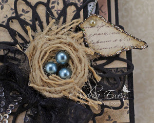 Beautiful Bird's Nest Embellishment