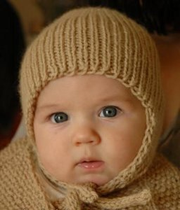 Knitting Pattern For Tiny Hat : Tiny Earflap Hat
