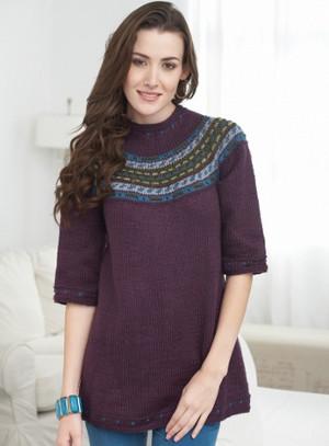 Современный исландский свитер