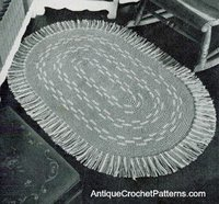 Old Fashioned Oval Rug