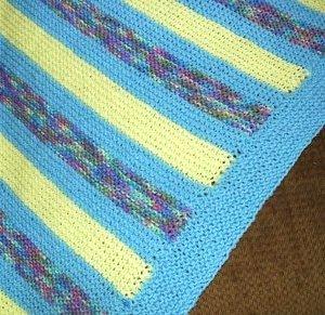 Colorful Sunbeams Blanket