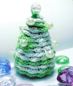 Crochet Pearl Tree