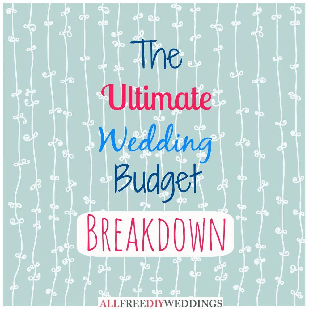 Planning A Wedding On A Budget: Wedding Planning: Wedding Budget Breakdown