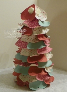 Valentine Hearts Tabletop Tree