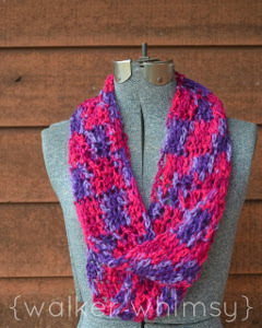 All Free Crochet Infinity Scarf Pattern : Violaceous Infinity Scarf Crochet Pattern AllFreeCrochet.com