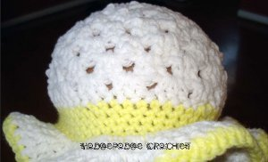 Granny Square Crochet Hat