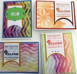 Heat-Embossed Homemade Card Ideas