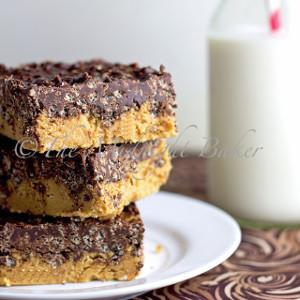 No-Bake Peanut Butter Crack Bars