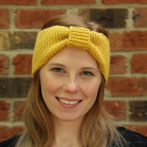 Goldenrod Cinched Headband