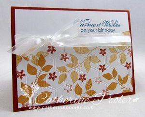 Tie It with a Bow Birthday Card