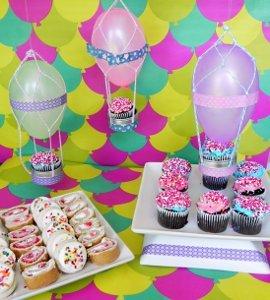 Hot Air Balloon Sweets Table