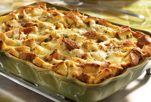 French Onion Leftover Turkey Casserole