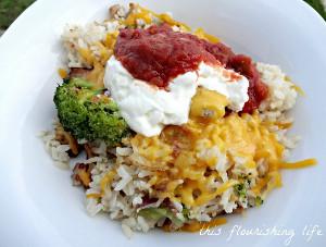 Low Fat Baked Ziti with Spinach | AllFreeCasseroleRecipes.com