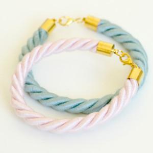 Pastel Rope Bracelet