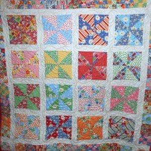 Kaleidoscope Pinwheel Quilt