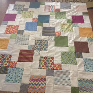 Incredible Dissappearing Nine Patch Quilt
