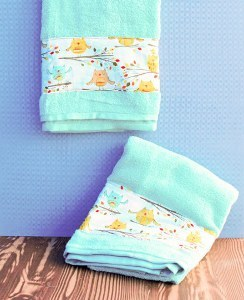 Owl Dry DIY Bath Towels