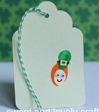Little Leprechaun Bookmark