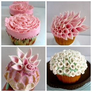 Dare to be different 8 awesome alternative wedding dessert table we have all the pint sized charming cupcakes a gal could want below plus an idea for a do it yourself cupcake bar that allows your guests to solutioingenieria Image collections