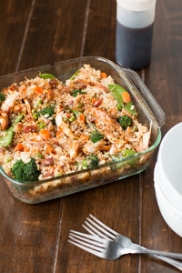 Sweet Teriyaki Chicken Casserole