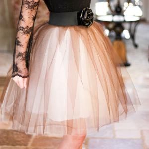 Lovely DIY Tulle Skirt