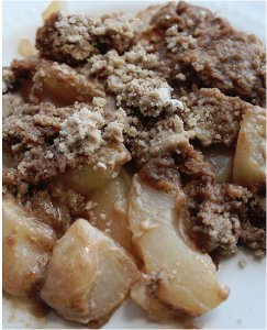 Dump Cake Using Spice Cake Mix And Apple Pie Filling