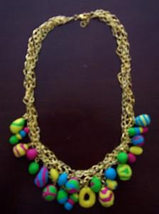 DIY Easter Necklace