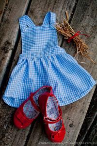 Little Dorothy Baby Dress Pattern