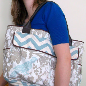 Hip DIY Diaper Bag