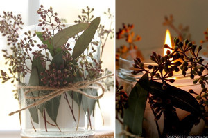 Deliciously Scented Eucalyptus Votives