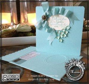 God's Art Through Flowers Handmade Card