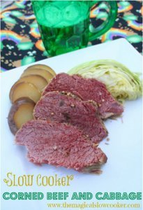 Slow Cooker Corned Beef, Cabbage, and Potatoes