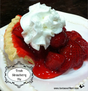 Ingredient Fresh Strawberry Pie | TheBestDessertRecipes.com