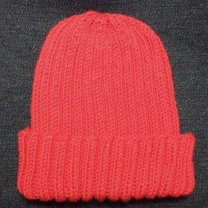 Basic Ribbed Baby Hat AllFreeKnitting.com