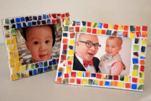 Mosaic DIY Picture Frames