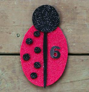 Ladybug Matching Math Game